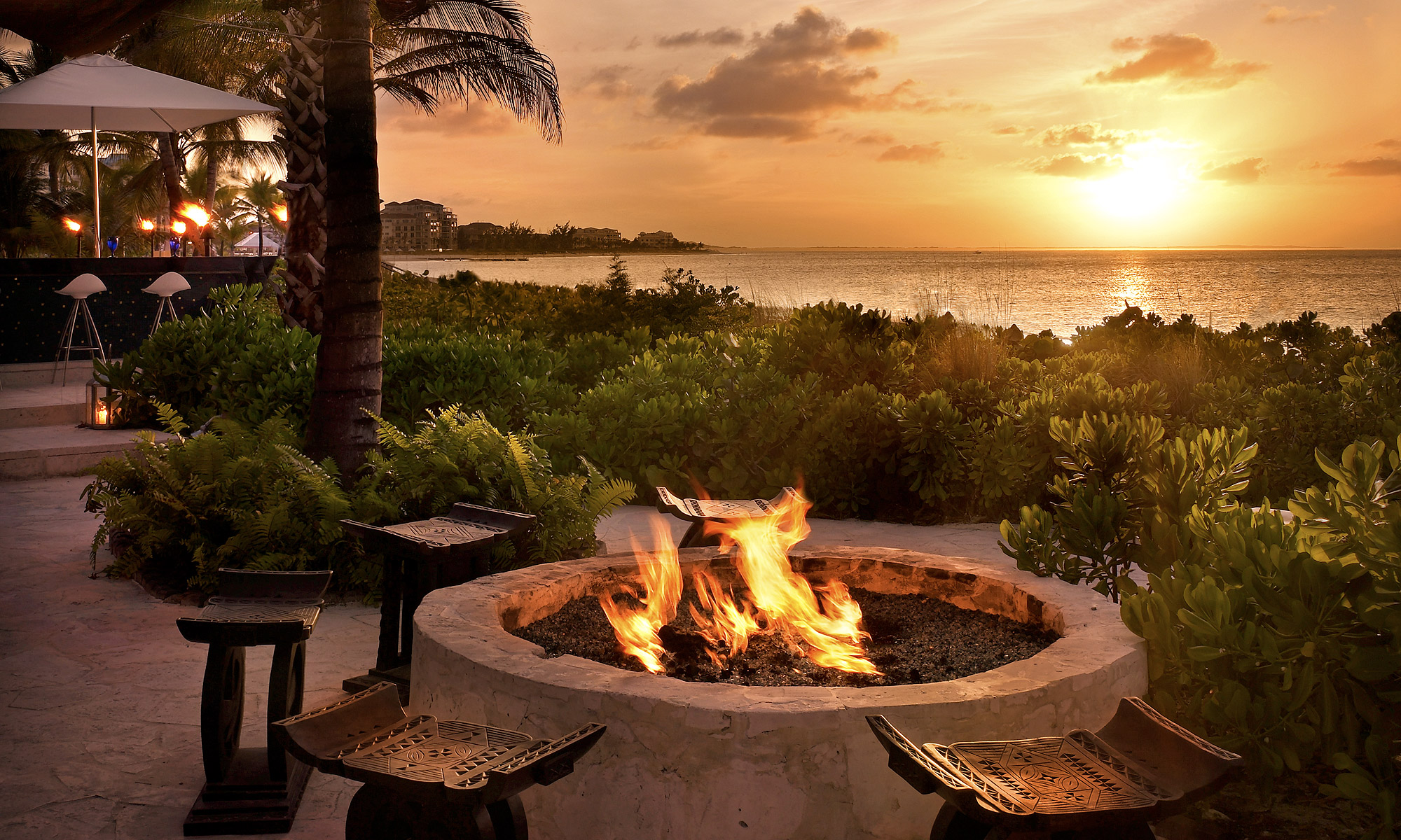 Bahamas-Sunset-Bonfire