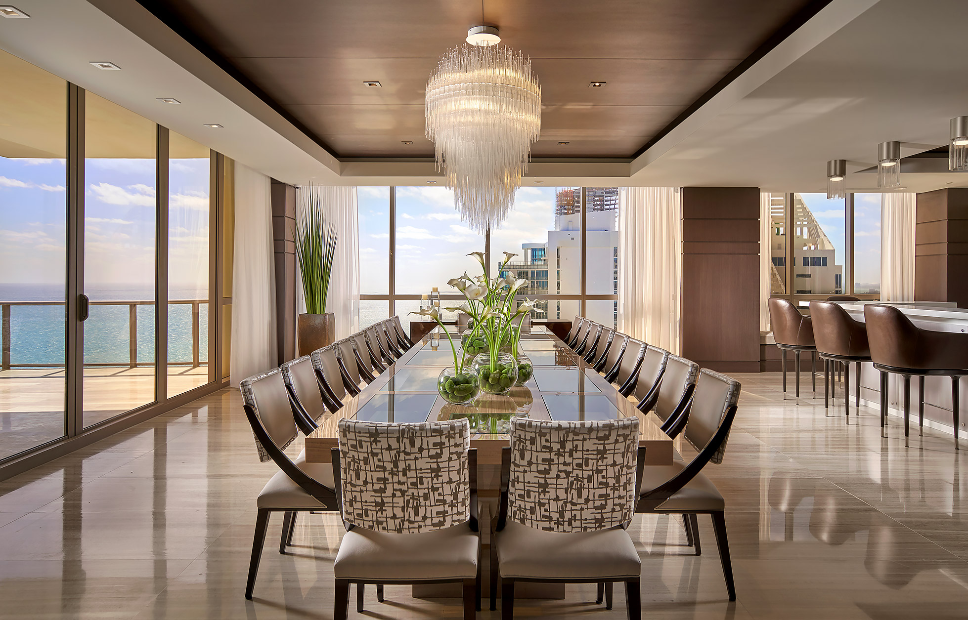 Interior-Photographer-Miami-Dining-Beach-View