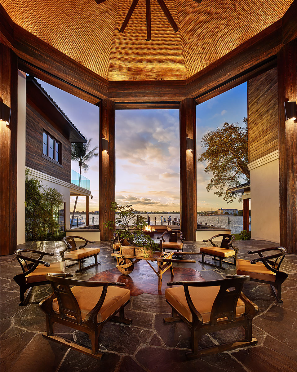 Luxury-Real-Estate-Photography-Exterior-Tiki-Patio
